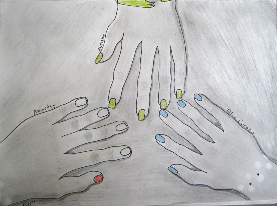 Muna Sibling Hands by BengalTiger4