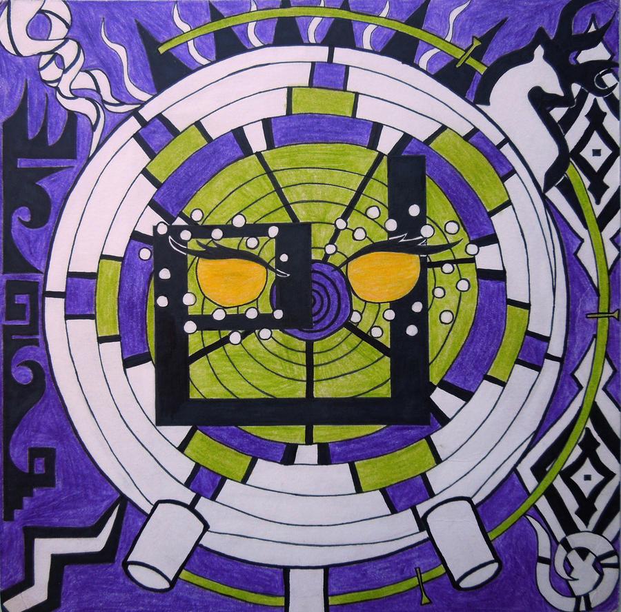 Absinthe's Mandala by BengalTiger4