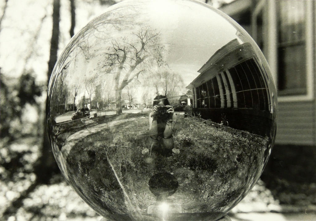 Globe Reflection by BengalTiger4