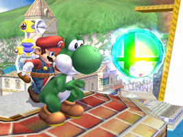 Brawl Pic-Super Mario Sunshine by PairOfKoopas