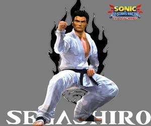 Akira to Segata- Sonic and Sega All-Stars Racing by PairOfKoopas