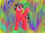Crazy Artist Pony