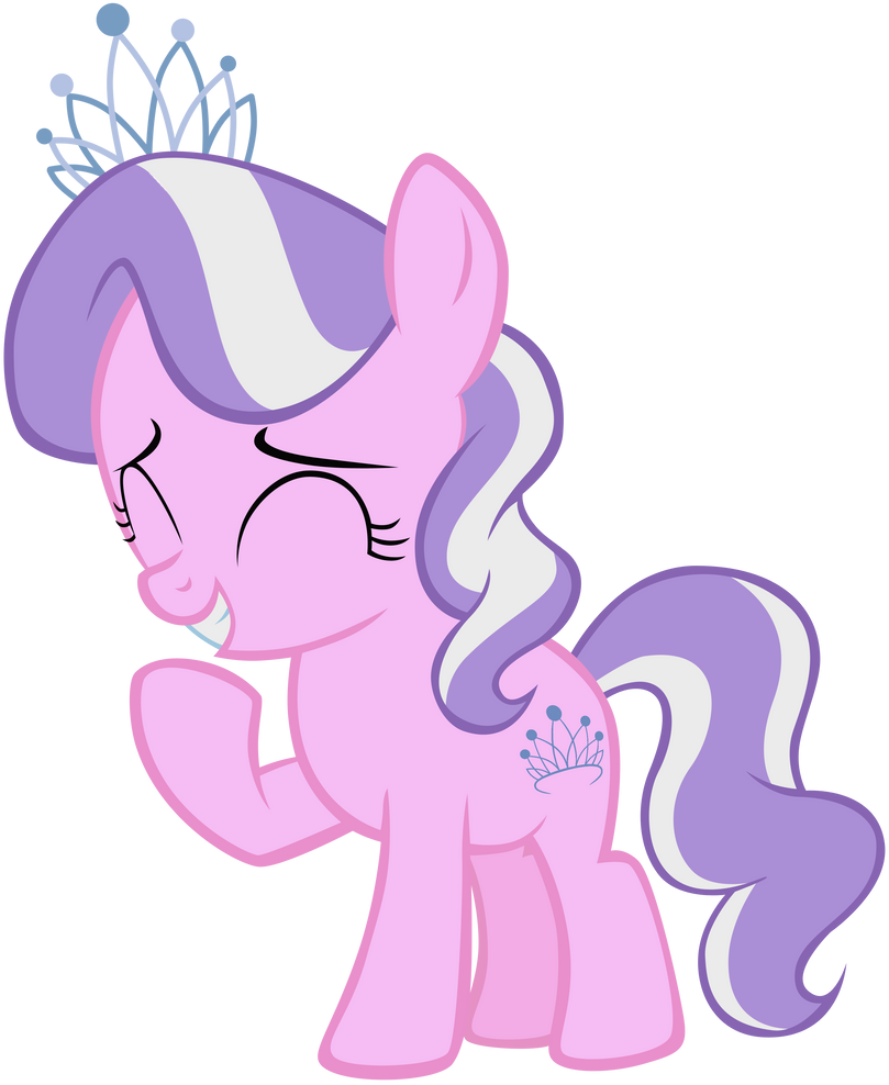Mlp diamond tiara vector