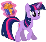 Twilight Sparkle - With a Book