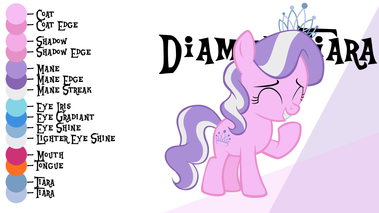 colour guide diamond tiara by liggliluff on deviantart