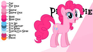 Colour Guide - Pinkie Pie