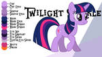 Colour Guide - Twilight Sparkle
