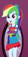 Equestria Girls - Rainbow Dash