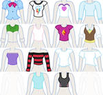 EqG Dress Up - preview (shirts)