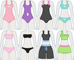 EqG Dress Up - preview (swimsuits)
