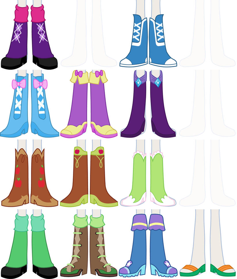 Eqg Dress Up Preview Shoes By Liggliluff On Deviantart