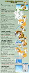 Colouring tutorial: female Tails by nime080