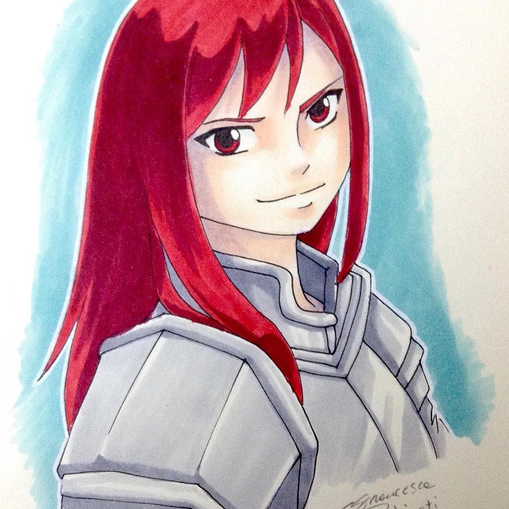 Erza Scarlet (Fairy Tail) by nime080