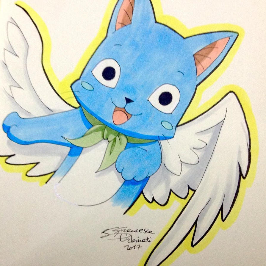 Happy (Fairy Tail) by nime080