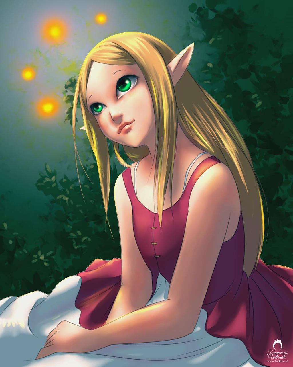 Legend of Zelda: Young Zelda by nime080