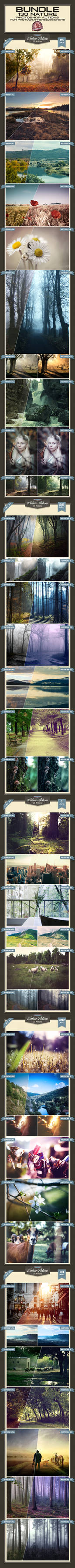 Nature Photoshop Actions - Premium!