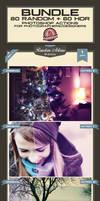 Random + HDR Photoshop Actions Bundle by baturaN