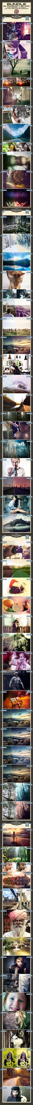 Random + HDR Photoshop Actions Bundle