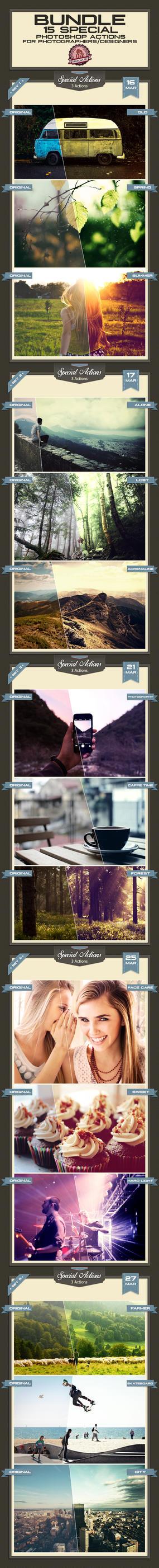 Special Photoshop Action Bundle I by baturaN