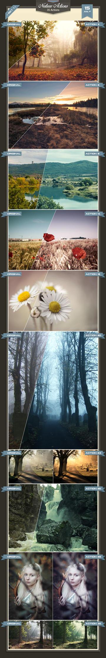 35 Nature Actions by baturaN