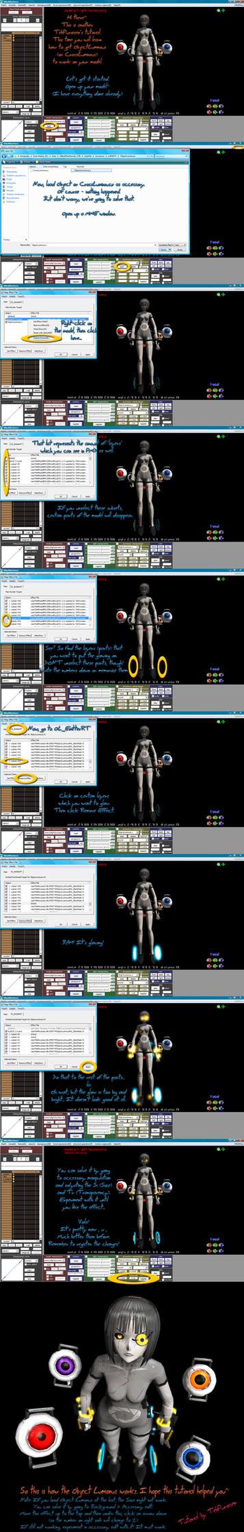 MMD Tutorial: Object/Cross Luminous MME by Puroistna