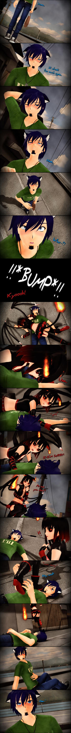 Comics-Silly demon...- by TehPuroisen