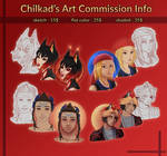 Art Commission Info -OPEN-