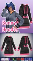 MMD Bunny Hoodie - Download -