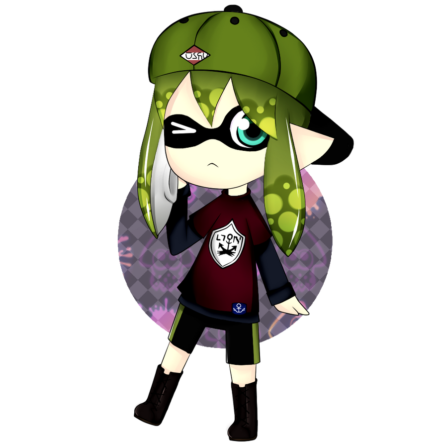|| Green Inkling  || Commish by RpullTistion