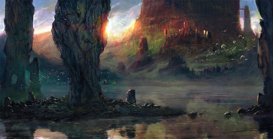 Landscape-2 by Grosnez