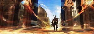 Diablo II - Lut Gholein - Radamant's Lair by Grosnez