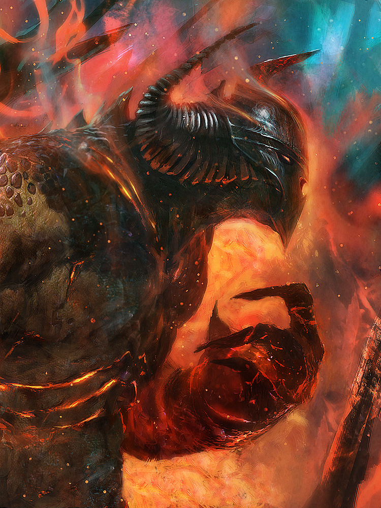 Lord of destruction by Grosnez