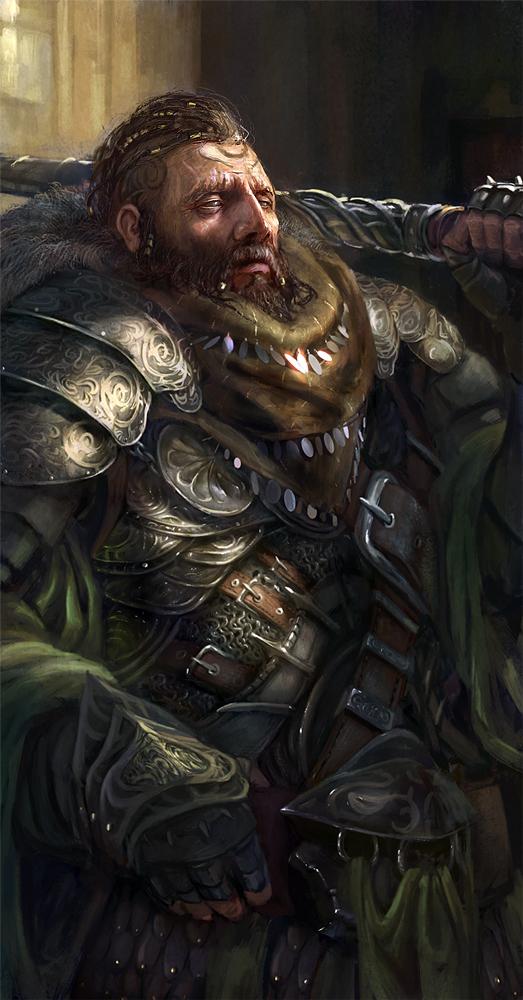 Barbarian - final step by Grosnez