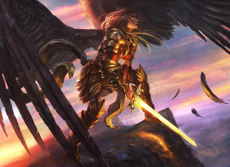 Serra Angel by Grosnez