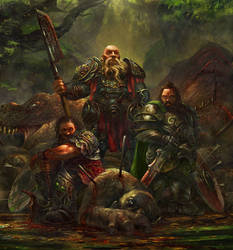 Dwarves - final version by Grosnez