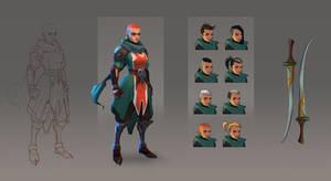Concept - Lena by Grosnez