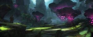 swamp - concept enviro2 by Grosnez