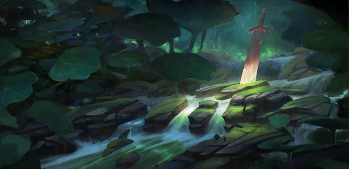 Nasturtium forest - enviro concept 1