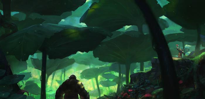 Nasturtium forest - enviro concept 2