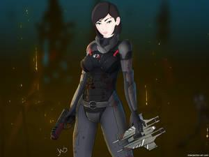 Mass effect, My Shepard