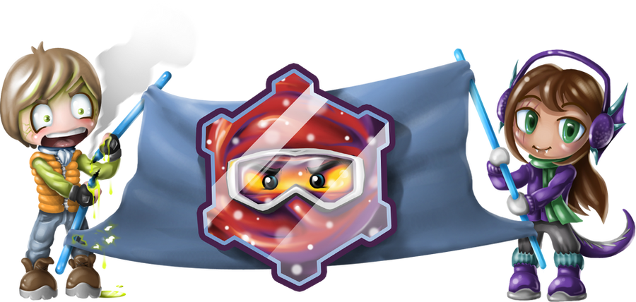 Ninjago Winter - Banner by skcolb