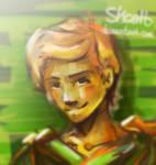 Ninjago sketch - Lloyd