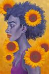 Sunflowers for George Floyd
