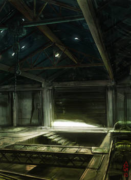 Ruined Factory Concept