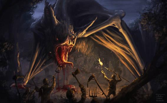 Bloodsucker dragon - Creatuanary 2021