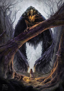 Winged nightmare