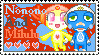 Milulu and Nonono love Stamp by SalemTheCat23