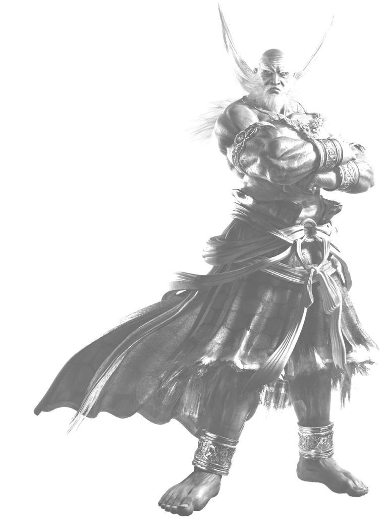 Jinpachi Mishima Tekken Tag 2 by krzysycd