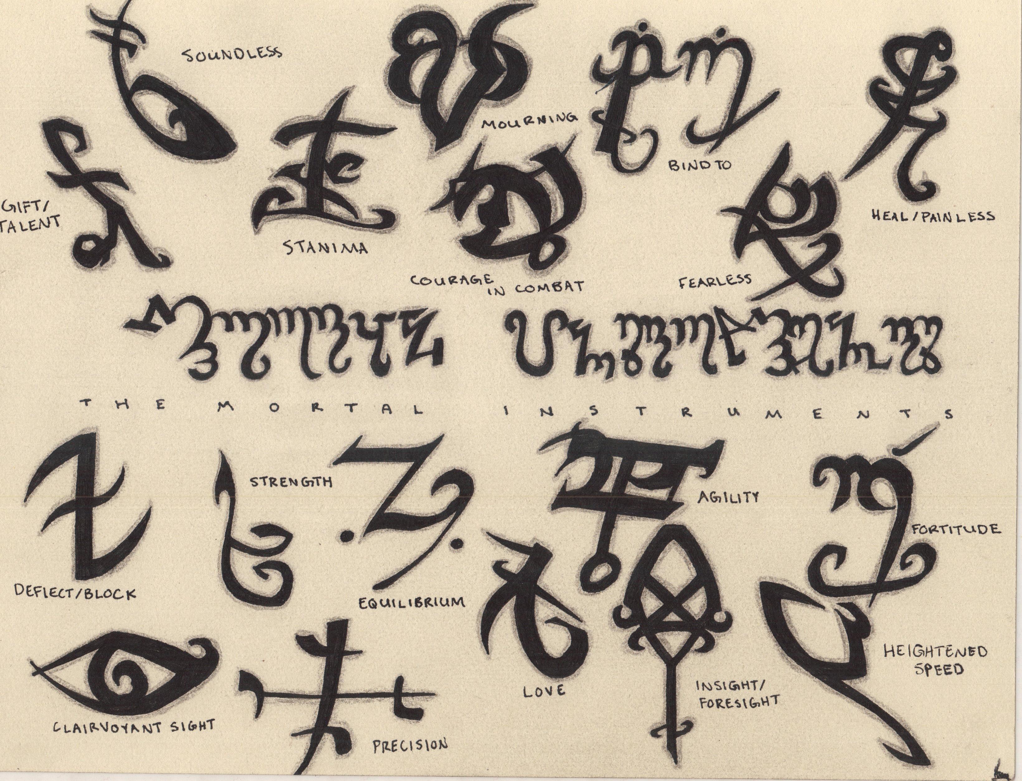 Immortal instruments symbols view symbol biocorpaavc
