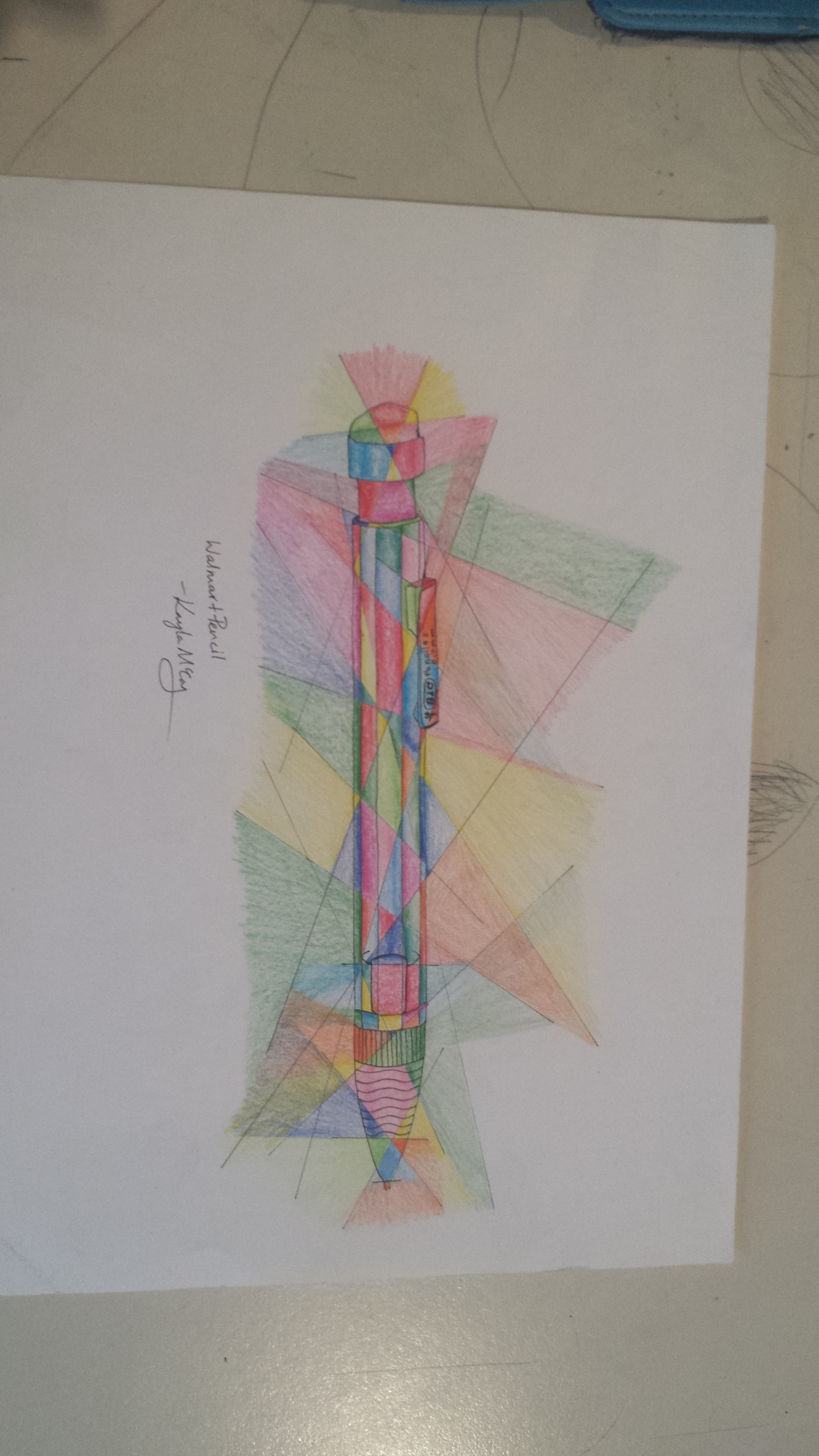 Walmart Pencil by WalterBrick